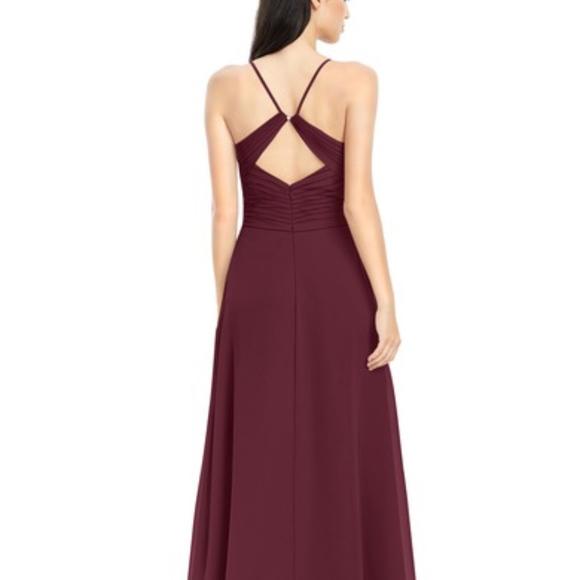 f8c9c6d8e6a Azazie Dresses   Skirts - Azazie Haleigh Bridesmaid Dress (Cabernet)